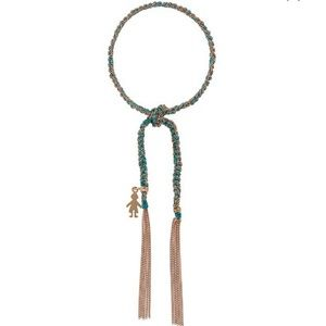 CAROLINA BUCCI lucky charm bracelet boy charm used